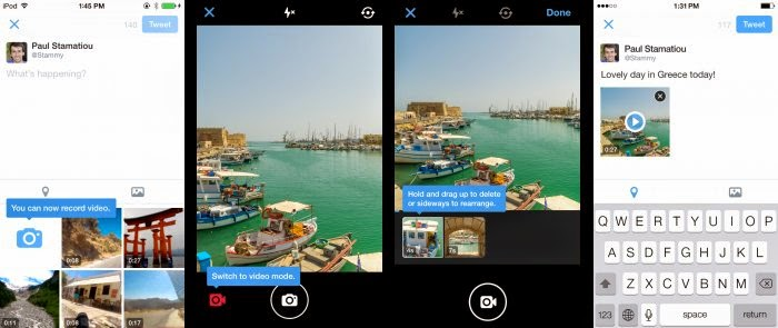 Twitter introduces new group Direct Messages and mobile video camera features for Android and iOS
