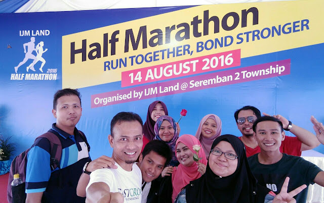 Blogger Malaysia, IJM Land Half Marathon 2016,