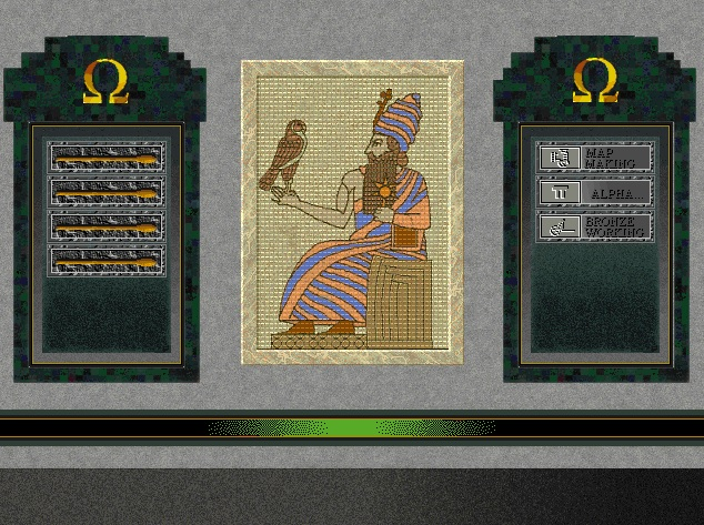 Screenshot of Hammurabi from Sid Meier's Civilization II