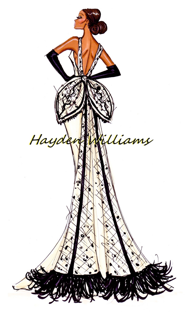 Hayden williams fashion illustrations hayden williams for How to be a fashion designer at 14
