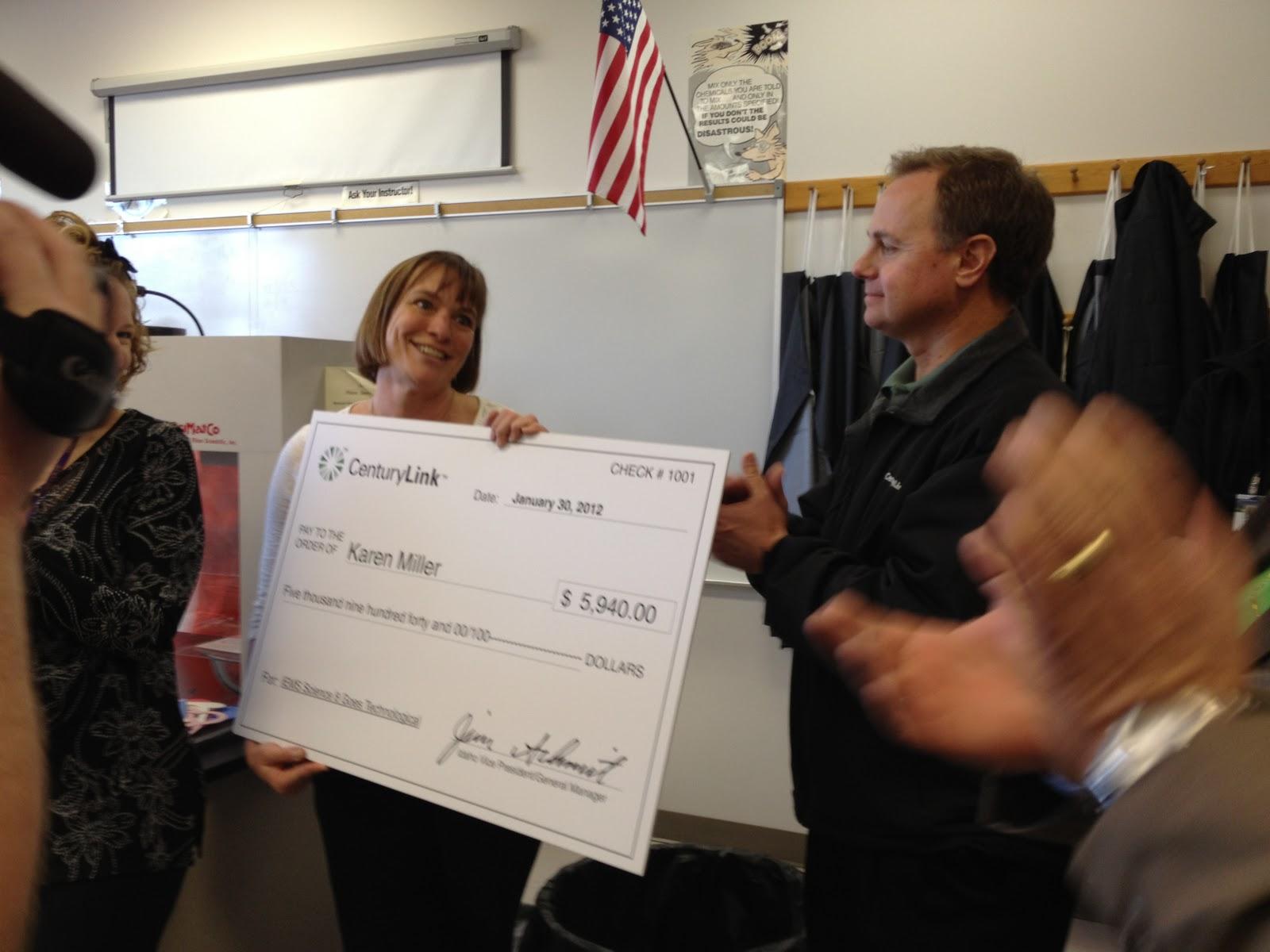 Idaho Education News Southern Idaho Teachers Win 32 000 In Grants From Centurylink For