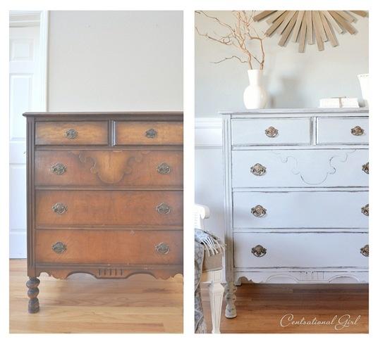 El antes y despu s de cualquier c moda - Renovar muebles antiguos ...