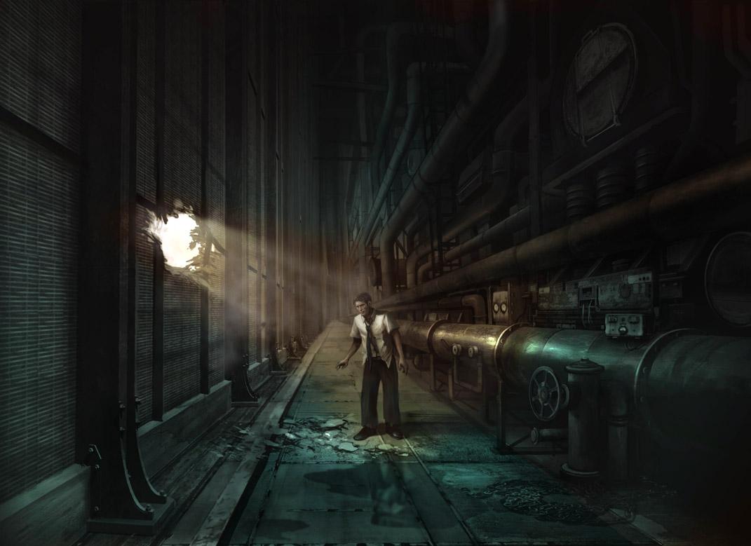 Jim Martin Concept Art Bioshock Rapture