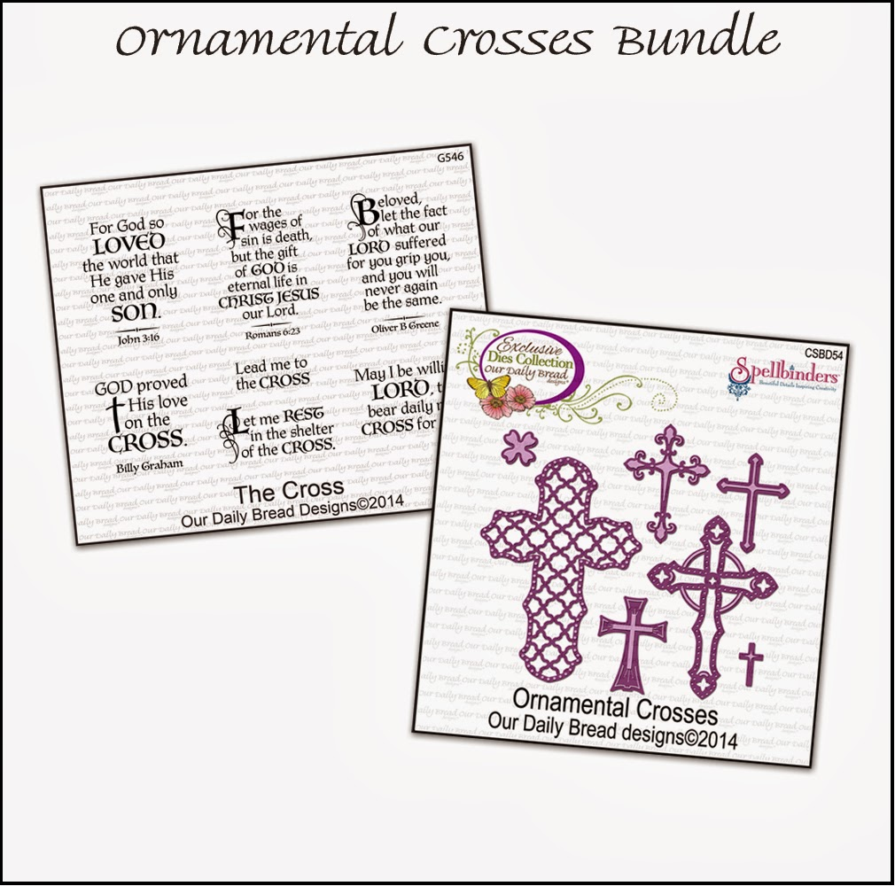 Stamps - Our Daily Bread Designs Ornamental Crosses Bundle