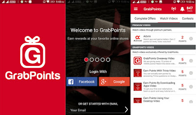 Grab Points Apps