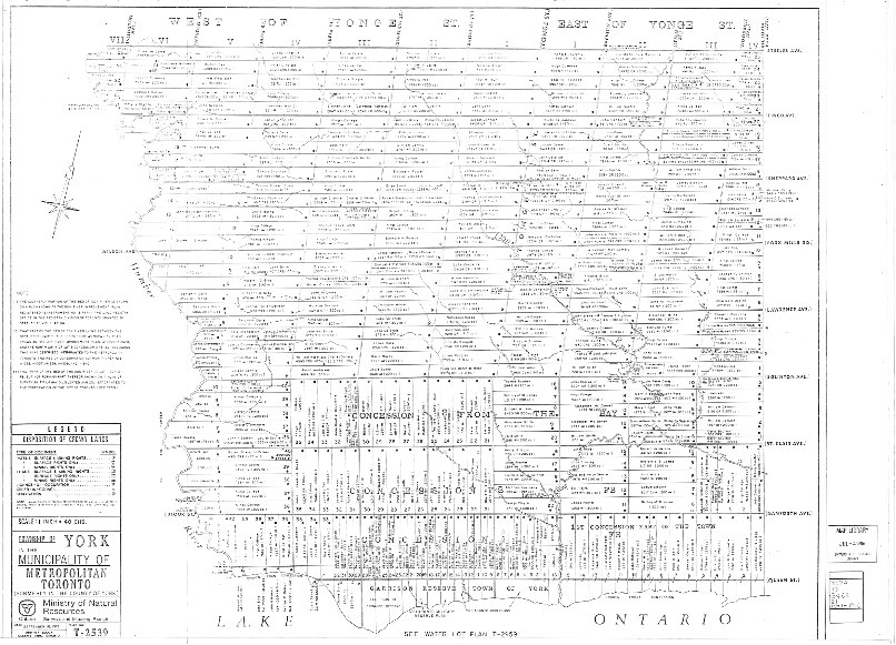 Historical Maps of Toronto: Contemporary Maps with