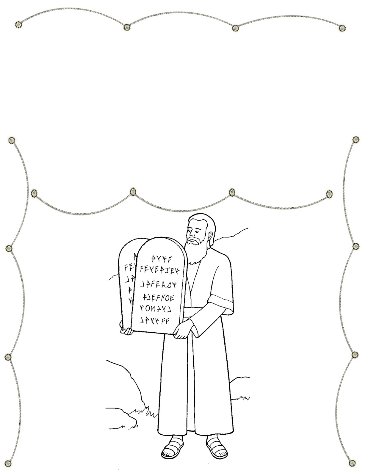 dibujos de los mandamientos para dibujar holamormon3