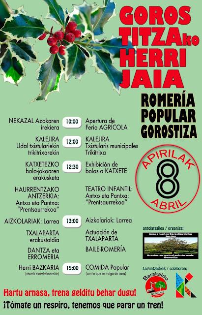 romería popular en Gorostiza