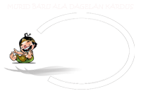 MURID BARU ALA DAGELAN KARDUS