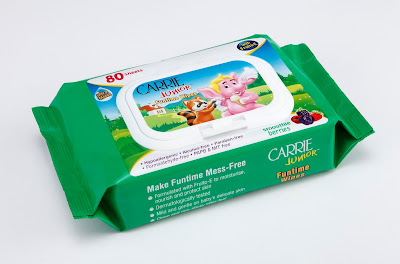 Carrie Junior funtime wipes - smoothie berries