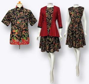 Baju Seragam Kerja Batik untuk Kantor Elegan