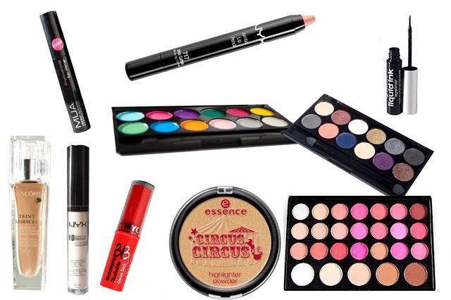 Maquillaje 014: Circus, Circus - Maquillaje de noche.