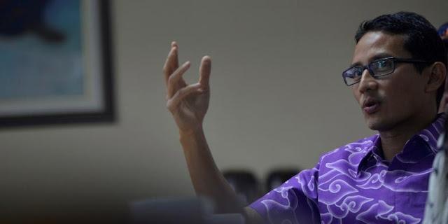 Sandiaga: Saya Ingatkan Pak Ahok, APBD yang Mau Diamankan Itu untuk Gubernur DKI Berikutnya