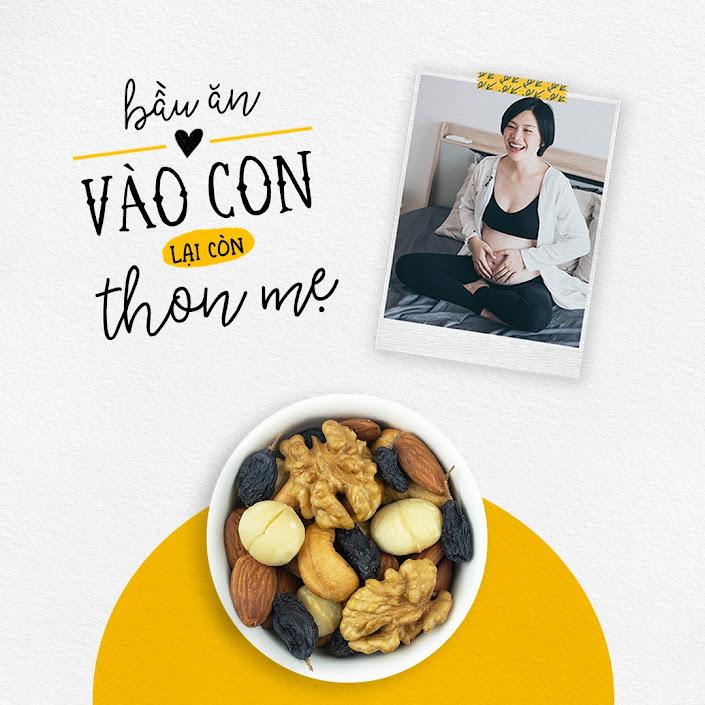 [A36] Những món ăn vặt giúp Mẹ Bầu khỏe, Con thông minh