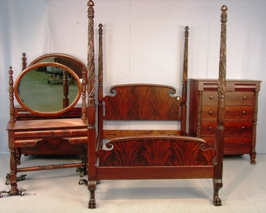 vintage mahogany bedroom furniture sets design ideas