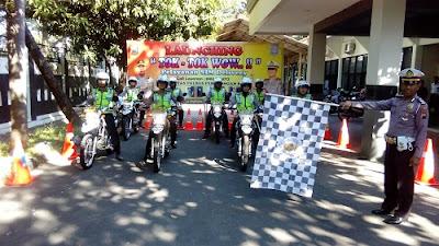 Siapkan Tim Delivery, Polres Pekalongan Kota Antarkan SIM Sampai Ke Rumah