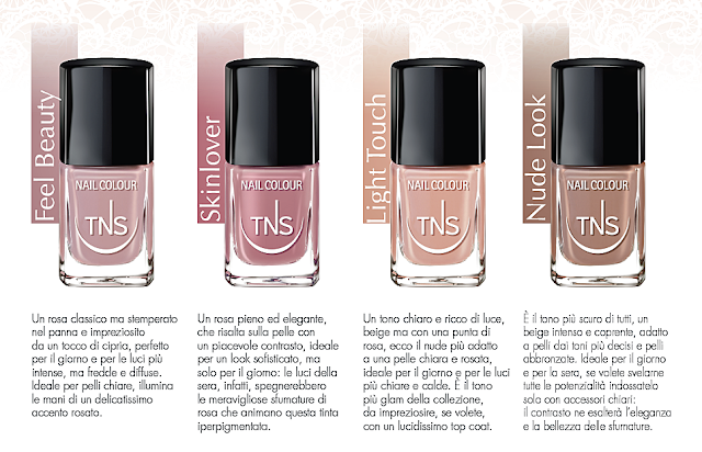TNS Cosmetics Nude Look Collection