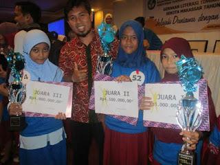 Karena Program Budaya Baca, SD ini Juara Utama Lomba Literasi Sekota Makassar
