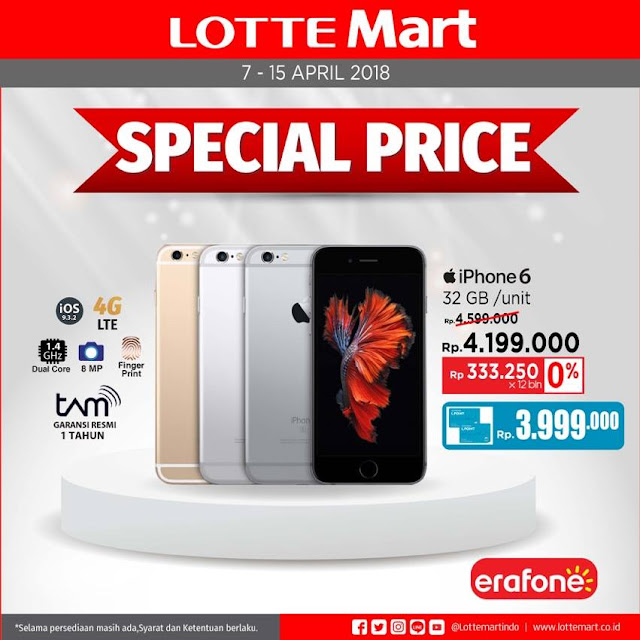 Iphone 6 lagi ada promo nih!
