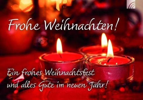 Christmas Wishes in German