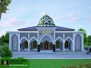 desain masjid terbaru