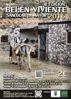 Belén Viviente de Sanlúcar la Mayor (Sevilla)