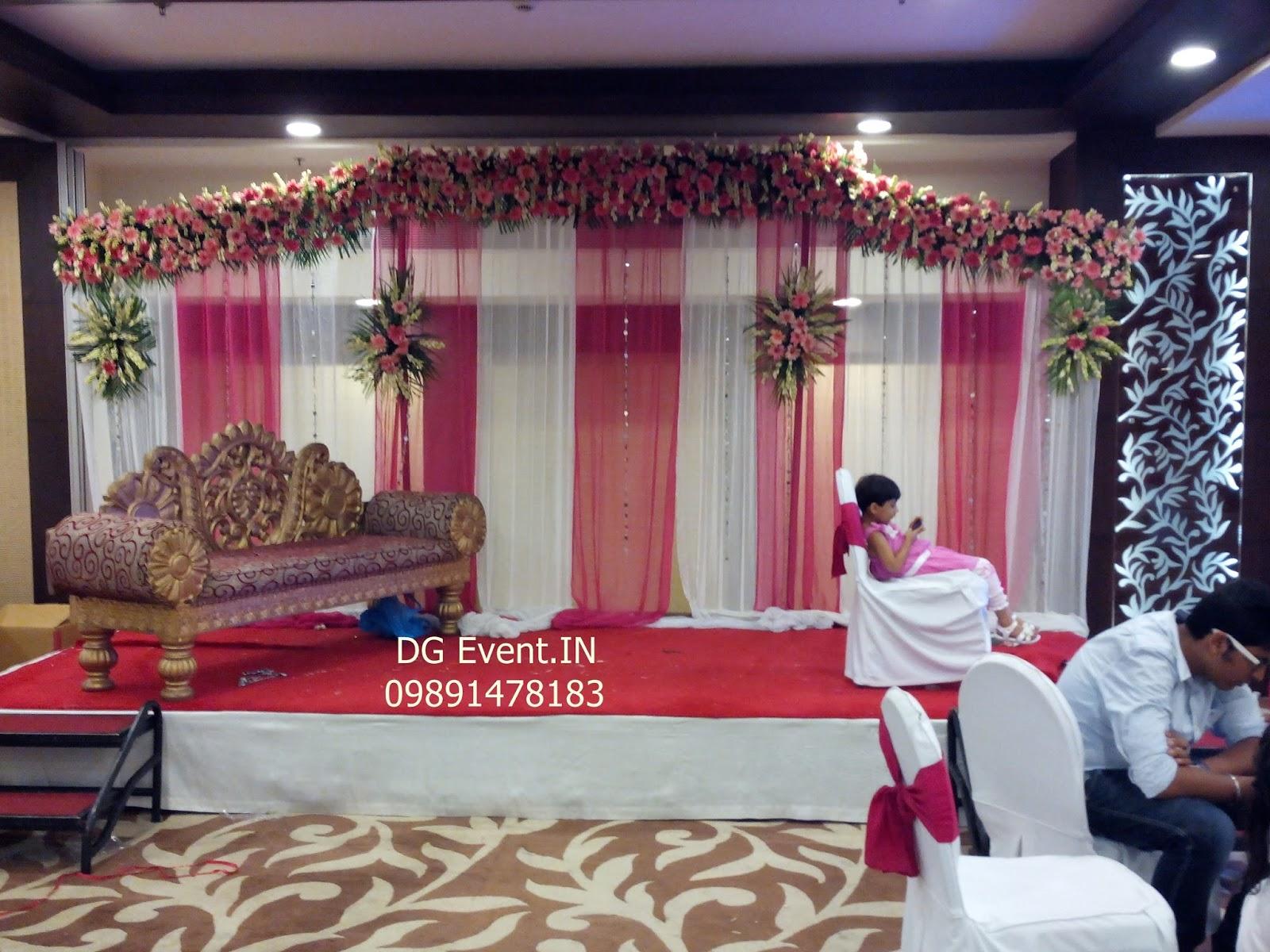 Hotel Banquet Hall Flower Decorators Gurgaon
