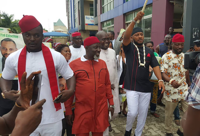 Yul edochie contests for Anambra Governorship