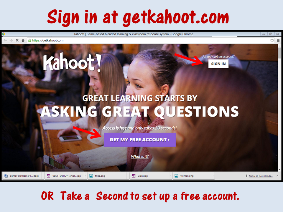 Here's the first of my spring survival tip series, with nine weeks to go until school is out for the summer: Use Kahoot in your classroom! Your students will find it highly engaging, and it's an interactive and fun way for them to learn at the end of the year. Click through to read more!