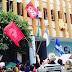 Mossoró amanhece com protesto contra a Reforma da Previdência