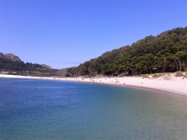 Playa de Rodas en Islas Cíes
