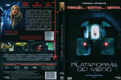 Filme Plataforma do Medo (Creep) DVD Capa