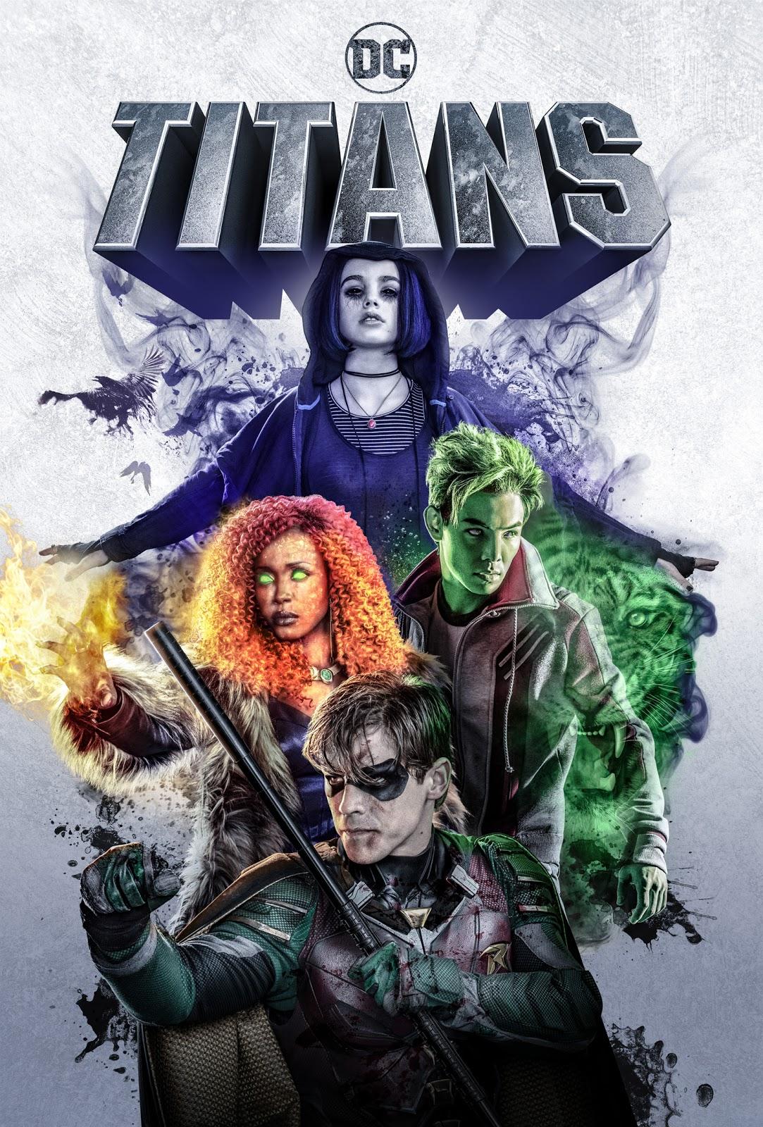 DC Universe Titans season 1 poster
