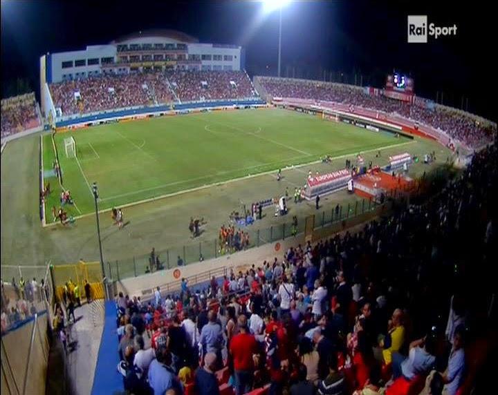"""Lo stadio """"Ti-Kali"""" de La Valletta a Malta. fotosportnotizie.com"""