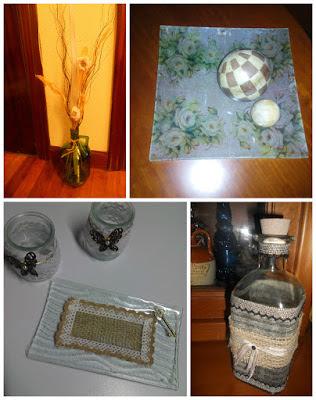 reciclando cristal