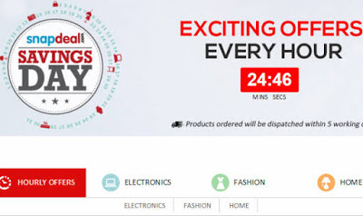 snapdeal - 22 may offer of the day lowest price