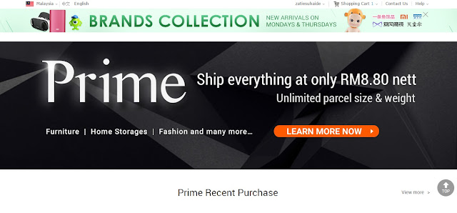 prime-unlimited shipping
