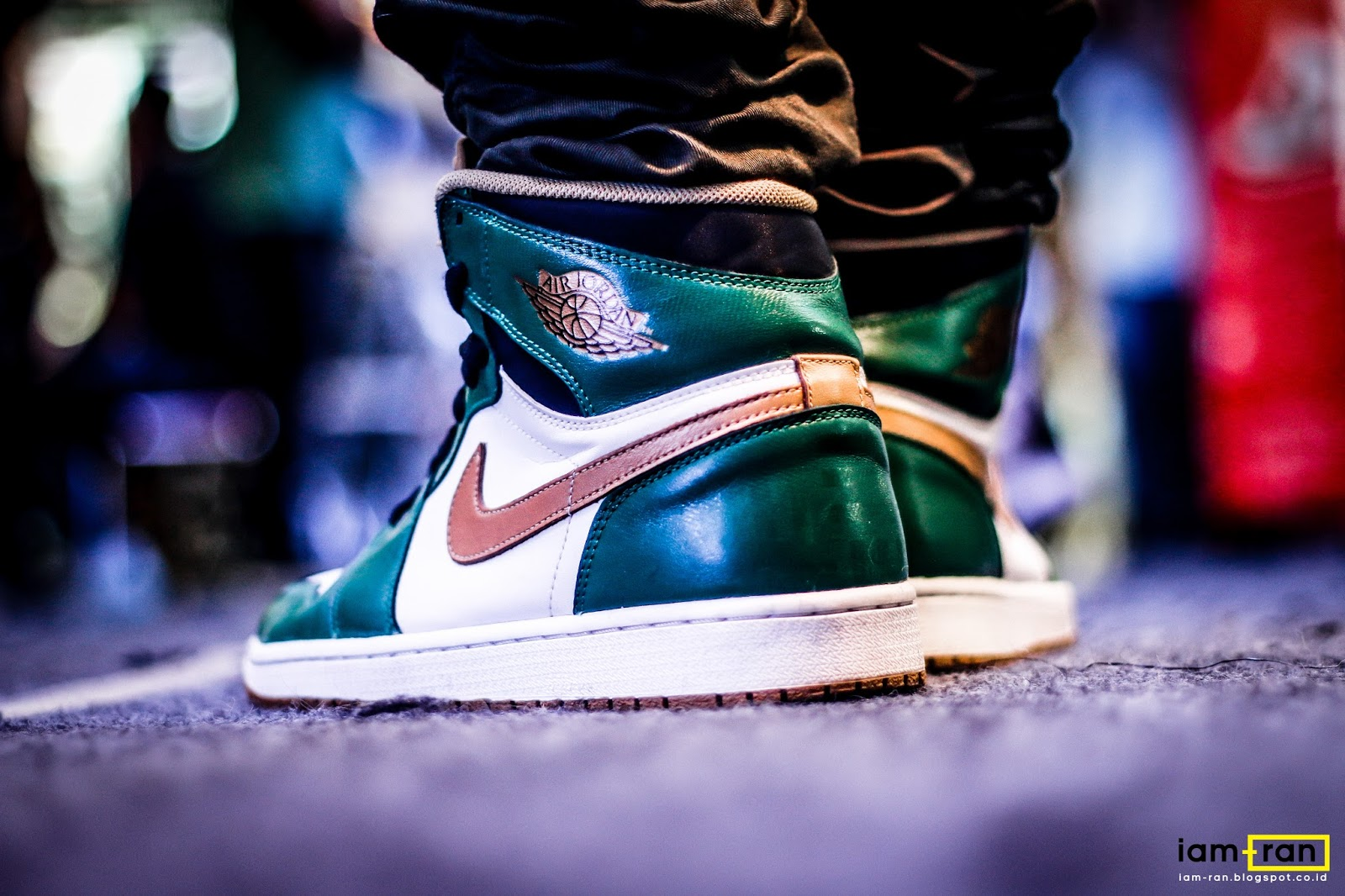 IAM-RAN  ON FEET   Dayu - Nike Air Jordan 1 Retro High