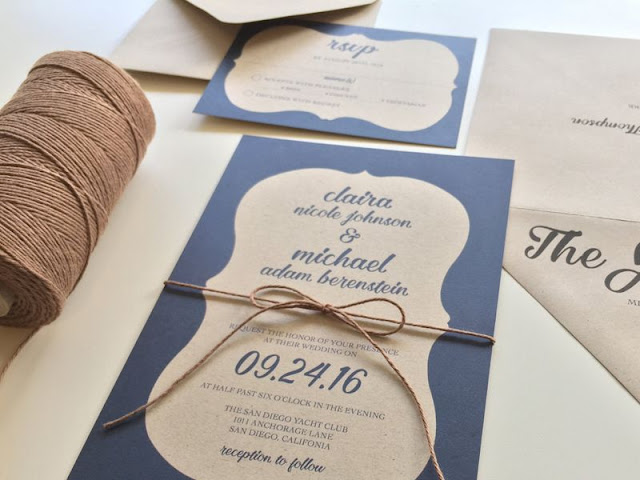 3 In 1 Wedding Invitations