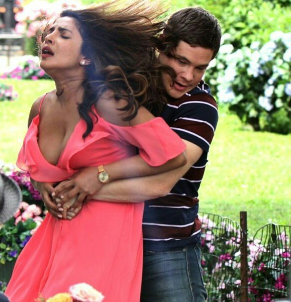 "Priyanka chopra hot pics from the Hollywood movie ""Isn't It Romantic"""