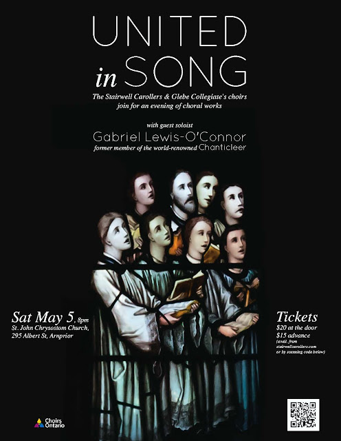 United in Song - One concert - One night - Arnprior May 5 2018