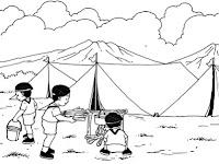 Soal Ulangan Harian Penjaskes Kelas 4 SD Materi Aktivitas Luas Sekolah