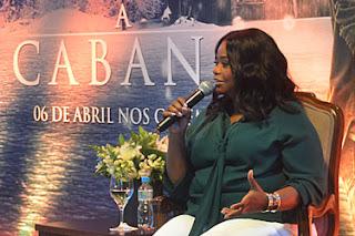Entrevista - Octavia Spencer - A Cabana - foto Ricardo Gama