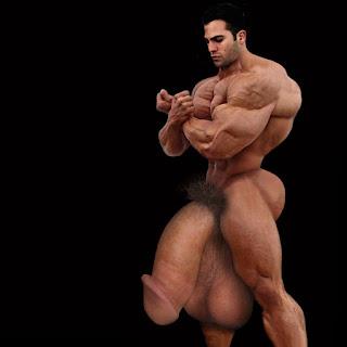 his dick got so big