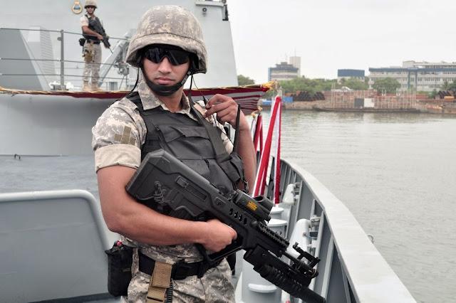 Indian Navy's Sagar Prahari Bal Commando
