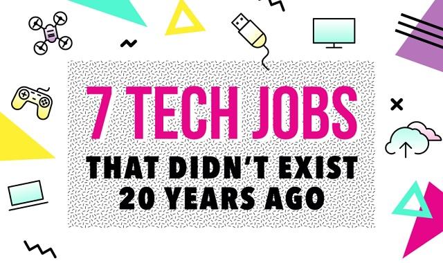 7 Tech Jobs That Didn't Exist 20 Years Ago