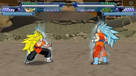 Dragon Ball Shin Battle Of Gods PPSSPP