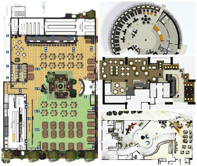 Apuntes revista digital de arquitectura dise o de for Planos para restaurantes