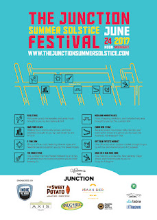 Junction Summer Solstice Festival in Toronto: June 24, 2017, Map