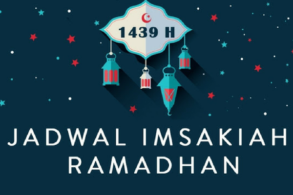 Jadwal Imsakiyah Ramadhan 1439 H/ 2018 Wilayah Palu